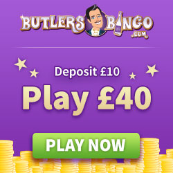 The Butler's BIG £10,000 at butlers bingo
