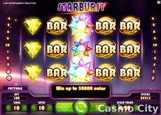 Starburst Mobile Pokie at comeon casino