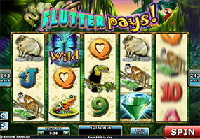 Flutter Pays Slots at Lucky Pants BINGO