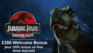 Jurassic Park Slots at betway