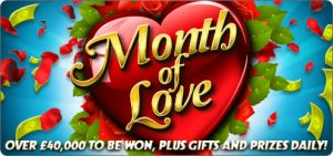 BINGOCAMS MONTH OF LOVE PROMOTION - FEB 2015