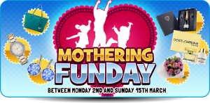 SHOWREEL BINGO MOTHERS DAY 2015