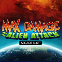 Max Damage and The Alien Attack Slot AT DAZZLE CASINO