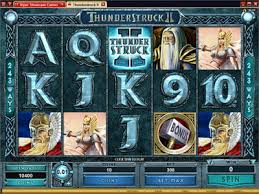 THUNDERSTRUCK II SLOTS AT 32 red